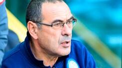 Napoli, Sarri: «La rosa della Juventus è la più forte d'Europa»