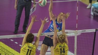 Volley: A1 Femminile, Novara travolgente in Gara 1 della finale Play Off