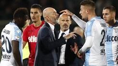 Fiorentina, Pioli contro l'arbitro: «Damato ha sbagliato tanto»