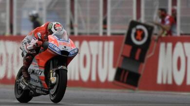 MotoGp Ducati, Lorenzo «L'aerodinamica è importante»