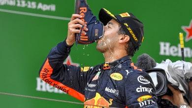 F1 Red Bull, Ricciardo: «Non voglio firmare un contratto lungo»