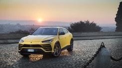 Lamborghini Urus, il Super Suv conquista Roma