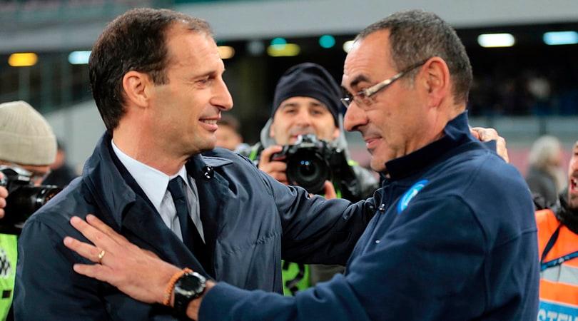 Tra Juventus e Napoli è la quinta sfida scudetto: tutti i precedenti