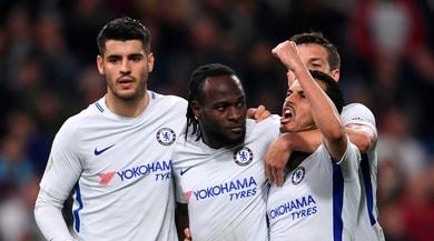Premier League, Burnley-Chelsea 1-2: Conte a -5 dal Tottenham