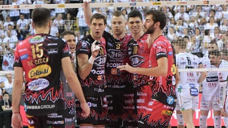 Volley: Superlega, Perugia doma Trento e vola in Finale