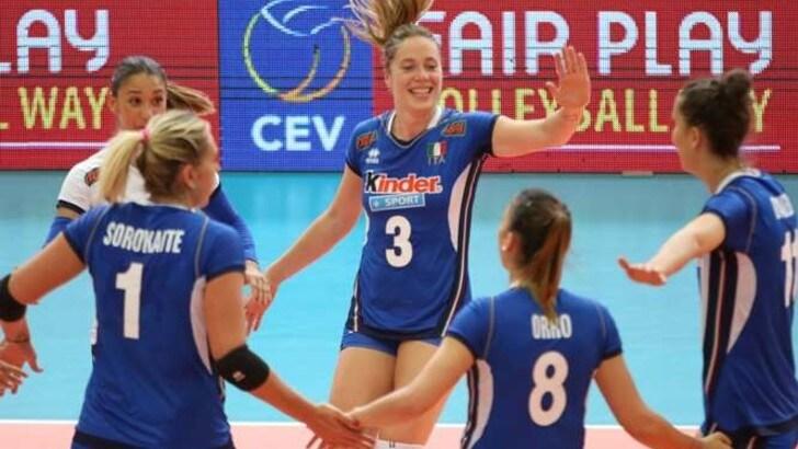 Volley: al via la stagione azzurra. Mazzanti ha convocato 20 atlete al Centro Pavesi