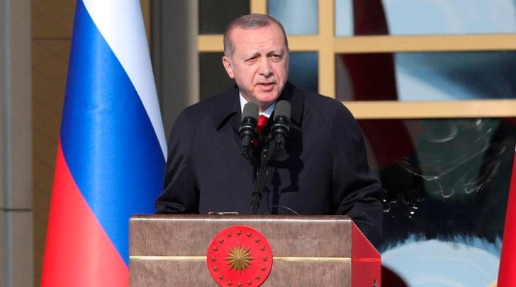 Erdogan: «Gli incidenti di Fenerbahce-Besiktas? Terrorismo»