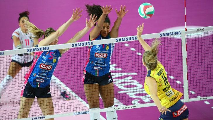 Volley: A1 Femminile, Al Palaverde la seconda sfida scudetto fra Conegliano e Novara