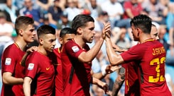 Serie A, Spal-Roma 0-3: autogol di Vicari, Nainggolan e Schick