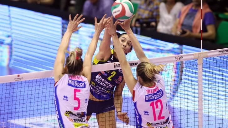 Volley: A1 Femminile, Conegliano porta la Finale sull' 1-1