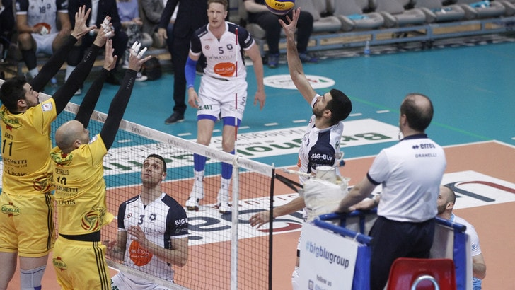 Volley: A2 Maschile, Semifinali Play Off: in finale vanno Siena e Spoleto