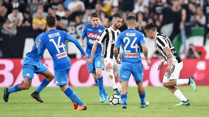1-0 alla Juve al 90', Napoli sale a -1