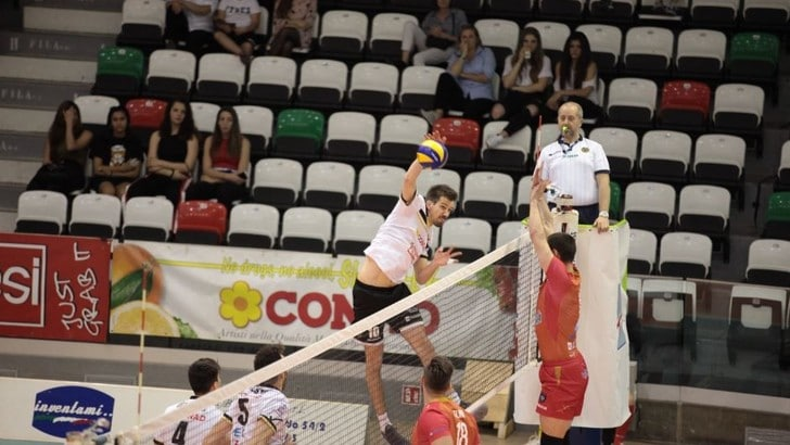 Volley: A2 Maschile, Play Out, Lagonegro è salva, Reggio Emilia si porta sul 2-1