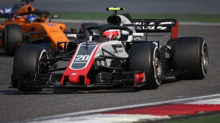 F1 Haas, Magnussen: «Abbiamo una macchina migliore rispetto all'anno scorso»