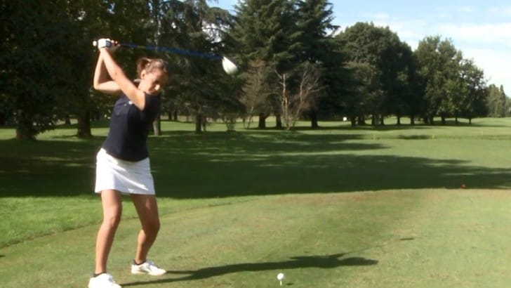 Alessandra Averna: «Il golf la mia medicina contro la SM»