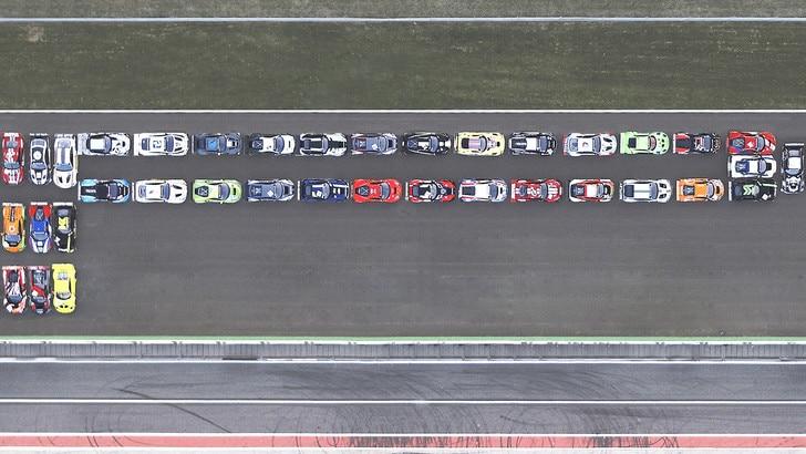 """Pirelli, una """"P"""" lunga 41 supercar"""