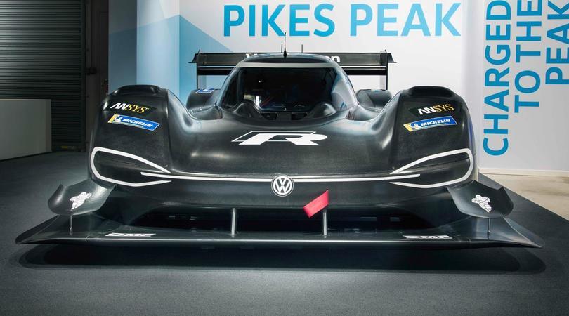 Volkswagen I.D. R Pikes Peak, prototipo elettrico più veloce di una F1