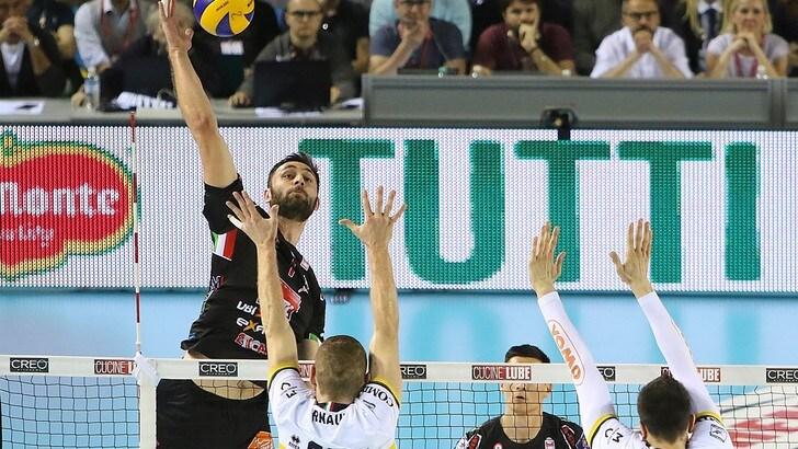 Volley: Superlega,  l'MVP delle Semifinali Play Off è Tsvetan Sokolov
