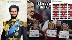 Roma, crollo Champions. E Salah diventa il nuovo idolo del web...