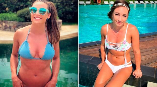 Dorothea Wierer si toglie gli sci e si mostra in bikini