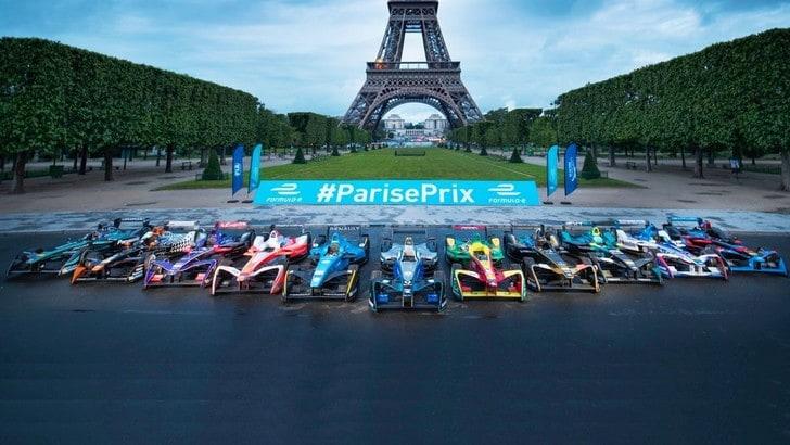 Formula E, l'e-prix di Parigi una sfida contro l'inquinamento