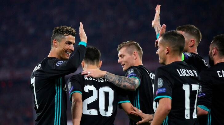 Champions League, Bayern Monaco-Real Madrid 1-2: Marcelo e Asensio rimontano Kimmich