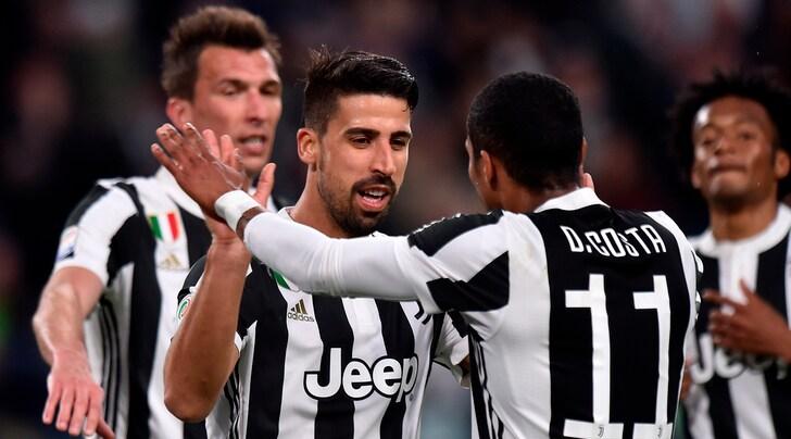 Juventus, Khedira: «Rimaniamo uniti e diamo tutto quello che abbiamo»