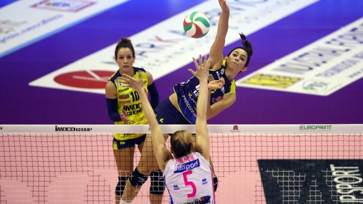 Volley: A1 Femminile: Finale Scudetto, Conegliano e Novara al quarto round