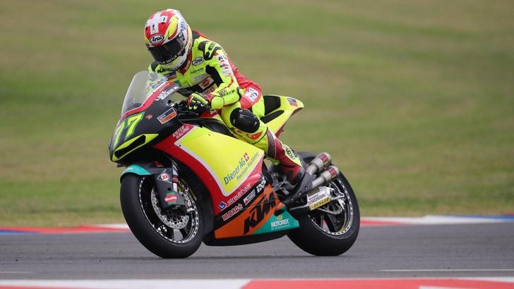 Moto2, Aegerter si frattura il bacino in allenamento: non sarà in Spagna