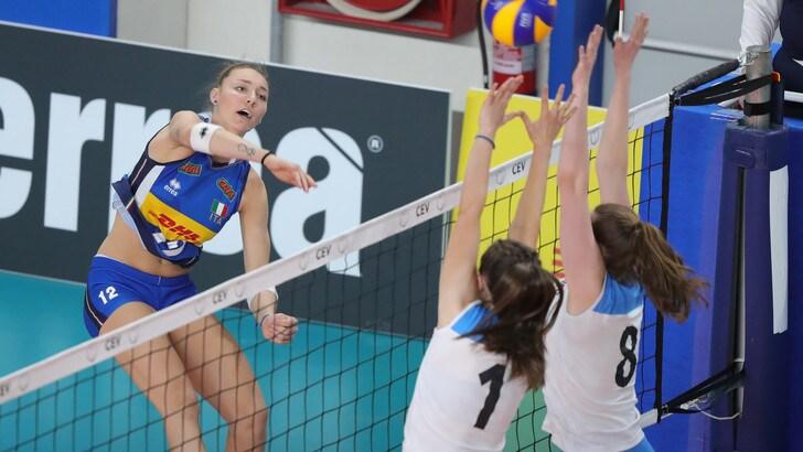 Volley: Europei Under 19 Femminili, partenza ok per l'Italia, battuta la Norvegia