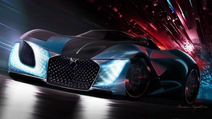 DS X E-Tense, auto da sogno per un futuro senza limiti