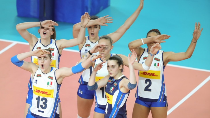 Volley: Europei Under 19, le azzurre conquistano la fase finale