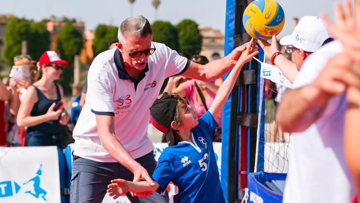 Volley: Lucky Lucchetta insieme ai 6000 del Memorial Favretto