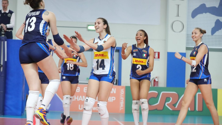 Volley: Volley: Europei Under 19, l'Italia batte anche la Repubblica Ceca