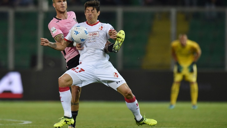 Serie B Palermo-Bari, Nenè riprende i rosanero: termina 1-1