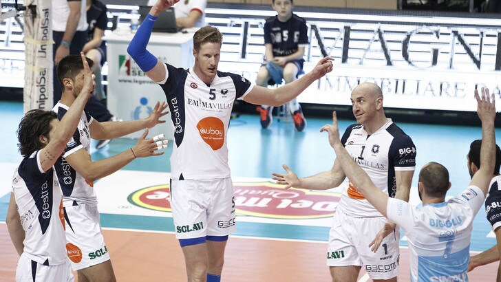 Volley: A2 Maschile, Finale Play Off: Siena vince Gara 1 al tie break