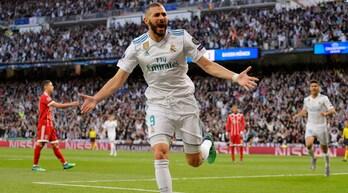 Champions League, Real Madrid-Bayern Monaco 2-2: doppietta Benzema, Zidane in finale per la terza volta di fila