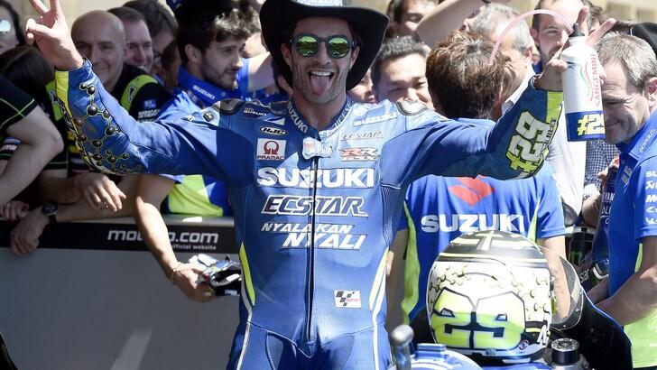 MotoGp Suzuki, Iannone: «Sono rimasto sorpreso dall'affetto che ho avuto»