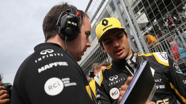 F1 Renault, Abiteboul pensa a un potenziale sostituto di Sainz
