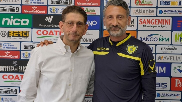 Serie A Chievo, D'Anna: «Che sfida». Campedelli: «Ottimo allenatore»