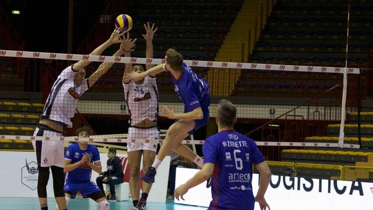 Volley: A2 Maschile, Play Out: Gara 4 Catania-Club Italia: in gioco la salvezza