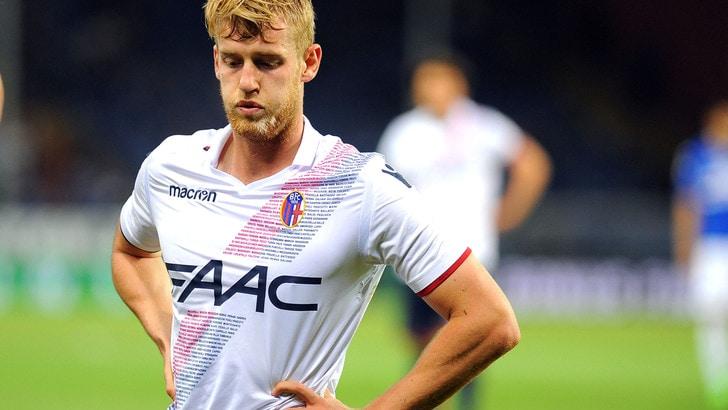 Serie A Bologna, regolarmente in gruppo Helander e Dzemaili
