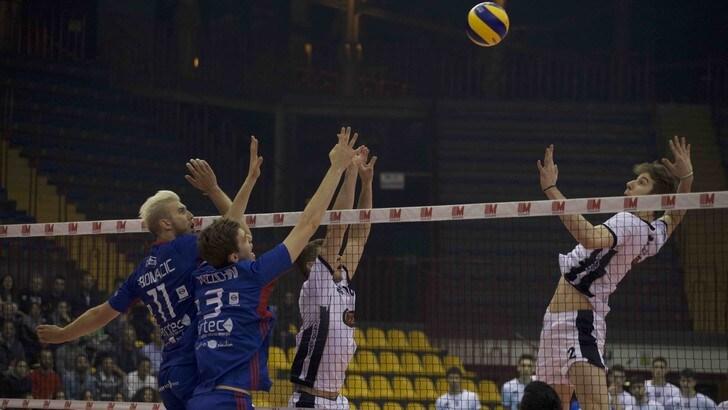 Volley: A2 Maschile, il Club Italia vince a Catania ed è salvo