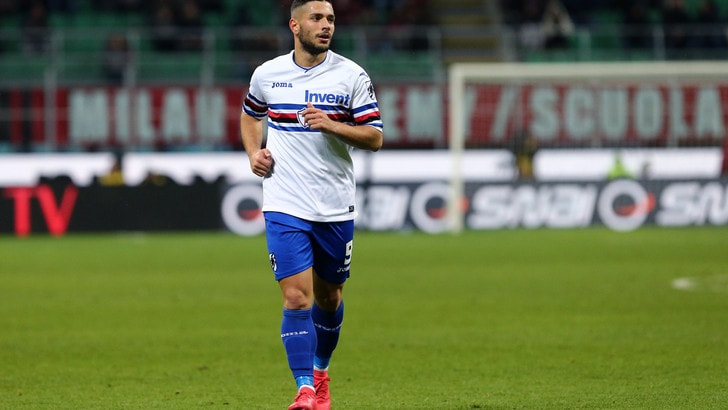 Allenamento calcio Sampdoria 2018