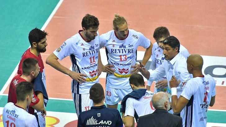 Volley: Superlega, Giani non si muove: lo annunciano Milano e Modena