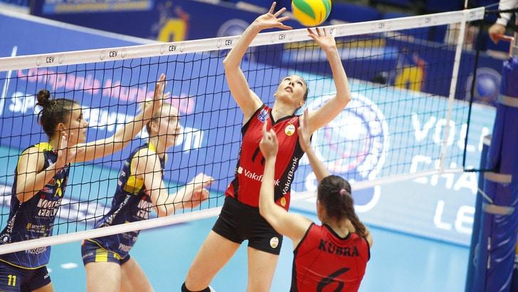 Volley: Champions League, l'Imoco cede al VakifBank ma solo al tie break