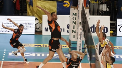 Volley: A2 Maschile, Finale Play Off: Siena si porta 2-0 su Spoleto