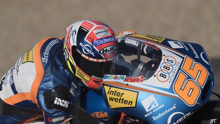 Moto3 Spagna: vince Oettl, Bezzecchi primo in classifica