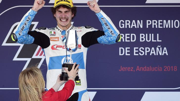 Moto2 Spagna, Baldassarri: «Ho fatto un gran weekend»