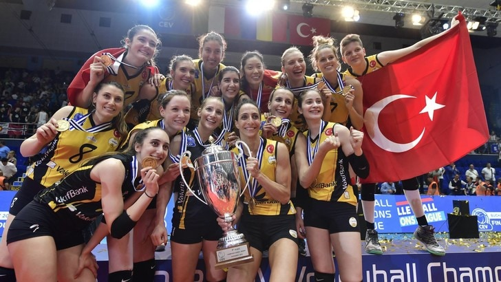 Volley: Champions League, il VakifBank Istanbul è ancora Campione